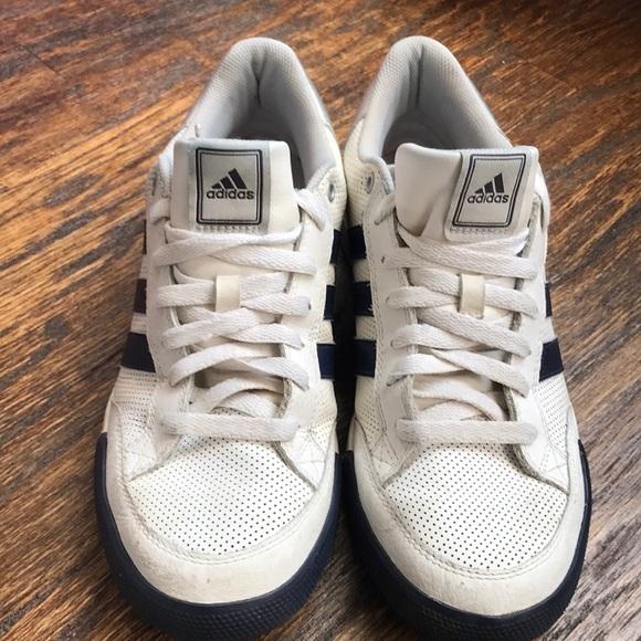 Adidas Oracle Stripes IV men's white leather shoes